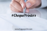 How to choose a cheque printer